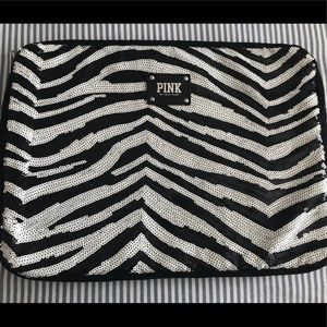 Pink by Victoria Secret Zebra Laptop Case